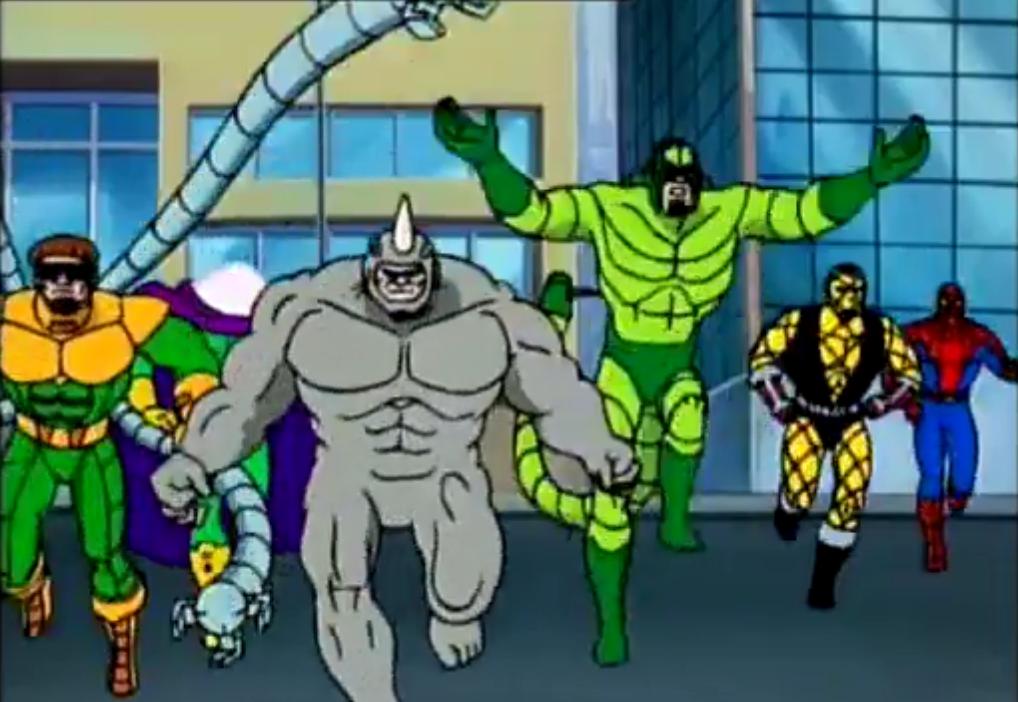 Insidious Six | Spiderman animated Wikia | FANDOM powered by Wikia