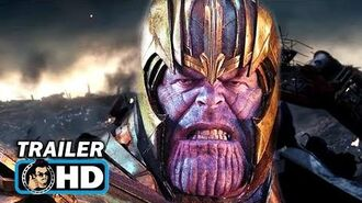 "AVENGERS ENDGAME ""Thanos Attacks Iron Man"" TV Spot Trailer NEW (2019) Marvel"
