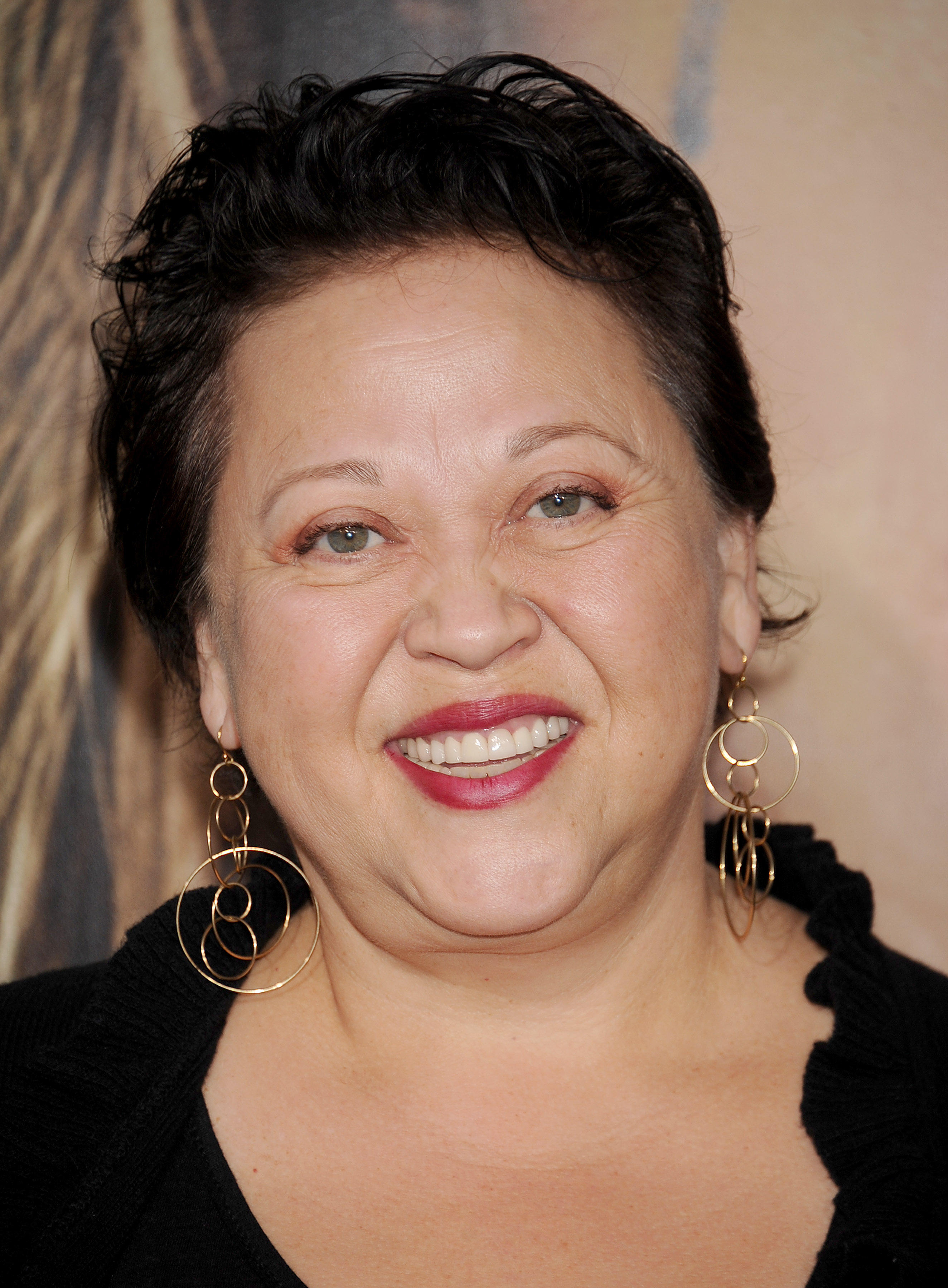 Amy Hill behind the voice actors