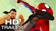 SPIDER-MAN INTO THE SPIDER-VERSE Sneak Peek Trailer NEW (2018) Animated Superhero Movie HD