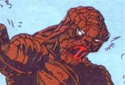 Mutated Herbert Landon from the comics