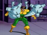 Doctor Octopus' mechanical arms