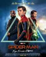 Spider-Man Far From Home Official Poster 2