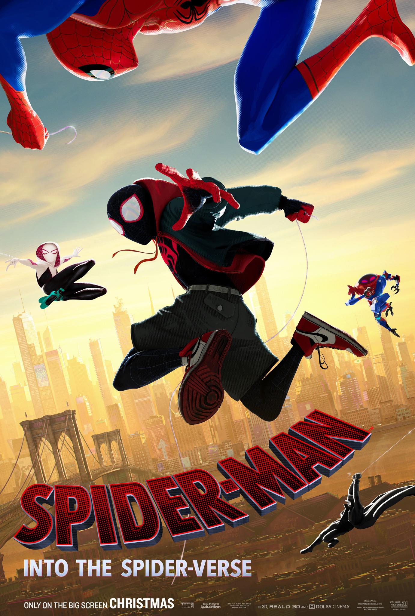 Spider Man Into The Spider Verse Spider Man Films Wiki Fandom