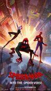 Spider-Man- Into The Spider-Verse Trio Poster