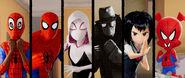 Spider-Gang Fighting Stance (IntoTheSpider-Verse)