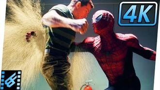 Spider-Man vs Sandman First Fight Spider-Man 3 (2007) Movie Clip