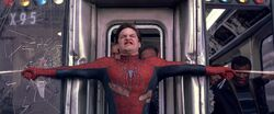 SM2-Spidey Holds Back A Train