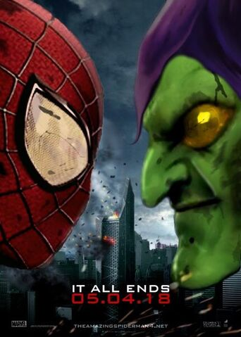 "File:The Amazing Spider-Man 4 - ""It All Ends"" - Poster.jpg"
