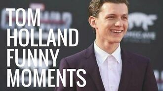 Tom Holland Funny Moments Part 1