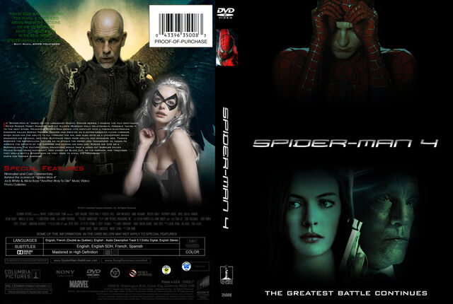 File:Spider-Man 4 (2011) Front & Back Cover.jpg