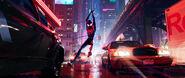 Miles Swinging Promo Still (IntoTheSpider-Verse)