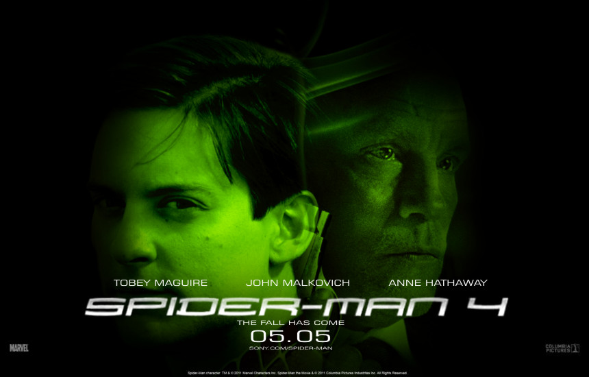 Wallpaper Of Tobey Maguire John Malkovich From Spider Man 4 2011