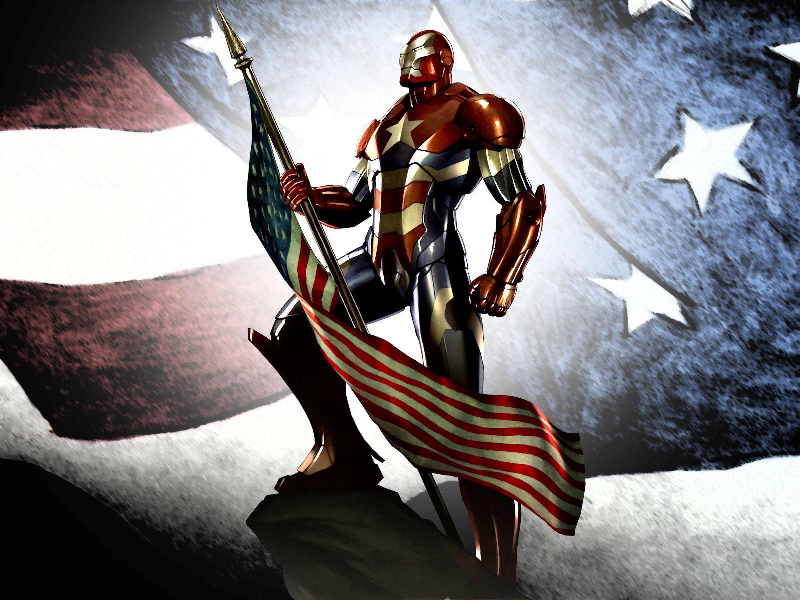 image - iron patriot flag man usa games hd-wallpaper-1446533