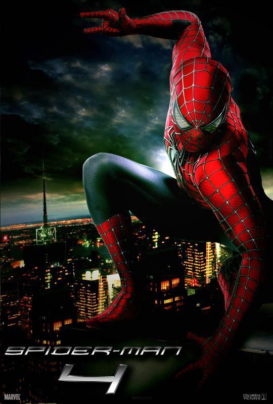 Spider Man 4 Poster