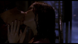 Spidermanx Mary Jane rain kiss