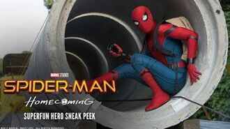 SPIDER-MAN HOMECOMING - Superfun Hero Sneak Peek - Ab 13.7.2017 im Kino!
