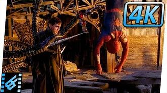 Spider-Man vs Dr Octopus Final Battle (Part 1) Spider-Man (2004) Movie Clip