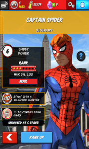 Character Profiles - Captain Spider