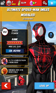 Character Profiles - Ultimate Spider-Man (Miles Morales)