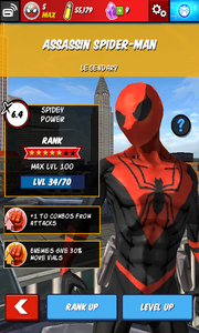 Character Profiles - Assassin Spider-Man