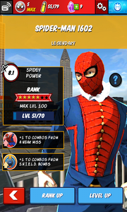 Character Profiles - Spider-Man 1602
