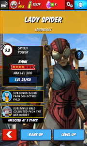 Character Profiles - Lady Spider