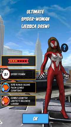 Ultimate Spider-Woman (Jessica Drew)