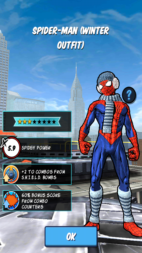 Spider-Man (Winter Outfit) & Spider-Man (Winter Outfit) | Spider-Man Unlimited (mobile game) Wiki ...