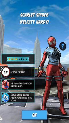 Scarlet Spider (Felicity Hardy)