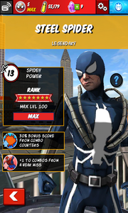 Character Profiles - Steel Spider