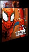 Spider-Man and Dark Sandman