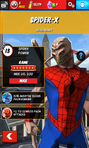 Character Profiles - Spider-X