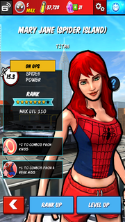Character Profiles - Mary Jane (Spider Island)