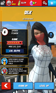 Character Profiles - Silk