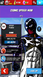 Character Profiles - Cosmic Spider-Man