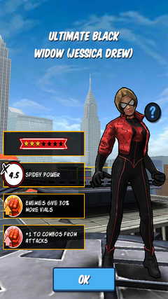Ultimate Black Widow (Jessica Drew)