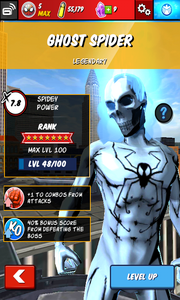 Character Profiles - Ghost Spider