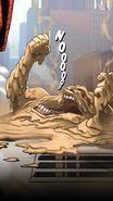 Dark Sandman defeated and became a wet puddle
