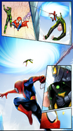 Spider-Man, Electro and Sinister Soldier