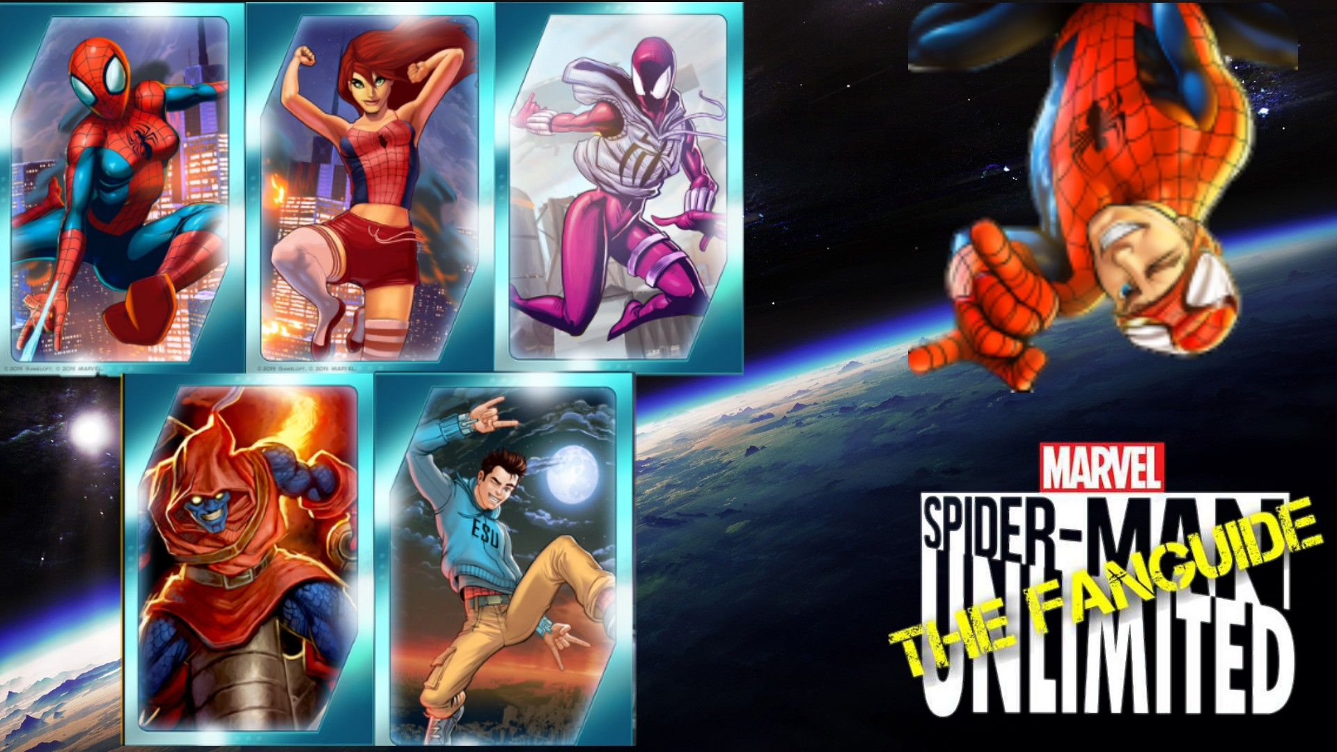 titans | spider-man unlimited (mobile game) wiki | fandom powered