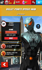 Character Profiles - Bullet Points Spider-Man