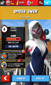 Character Profiles - Spider-Gwen