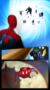 Spider-Man, Electro, 5 versions of Sandman, and Sinister Soldiers