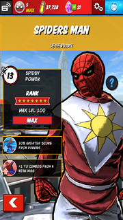Character Profiles - Spiders Man