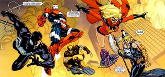 Venom Dark avengers