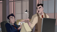 John Jonah Jameson hablandole a Ned Lee - Survival of the Fittest