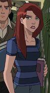 Ultimate Spider-Man Web Warriors Mary Jane Watson