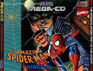 Spider-Man vs. The Kingpin Mega CD Front