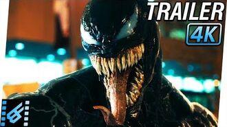 VENOM Trailer 2 (2018) 4K Ultra HD Tom Hardy, Michelle Williams, Riz Ahmed